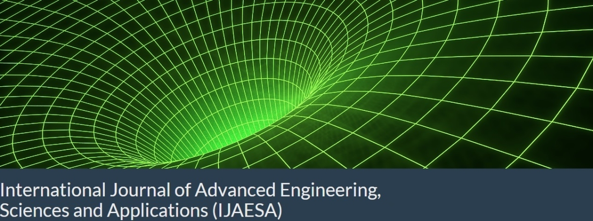 International Journal Of Advanced Engineering Sciences And Applications